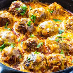 Tex Mex Meatballs are flavored with jalapeno, chipotle pepprs, cumin, and cilantro, simmered in enchilada sauce and covered in a blanket of melted Mexican cheese. Mexican Dishes, Mexican Food Recipes, Beef Recipes, Ethnic Recipes, Mexican Cheese, Drink Recipes, Jalapeno Recipes, Mince Recipes, Mexican Cooking