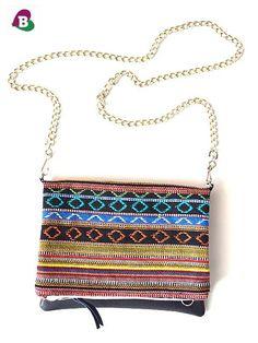 Foldover Clutch & Cross Body Bag  Handmade  by becauseilikeitAU, $55.00