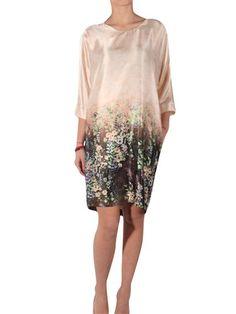 Emporio Armani  silk floral dress