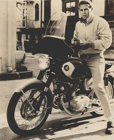 Steve McQueen on the Honda SuperHawk.The Honda CB77, or Super Hawk, was a 305 cc (18.6 cu in) vertical twin motorcycle produced from 1961 until 1967. It is remembered today as Honda's first sportbike