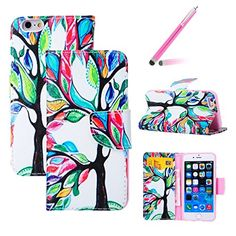 iPhone 6S Plus Case,iPhone 6 Plus Cover,Binfen iPhone 6/6S Plus 5.5 Inch Beautiful Colorful Oil Painting Tree Pattern Magnetic Closure Style PU Leather Wallet [Stand Feature] Flip Protective Case with Lanyard Strap + 1x Black Stylus Binfen http://www.amazon.co.uk/dp/B0194OK0R0/ref=cm_sw_r_pi_dp_CV4Bwb0SPV3YB