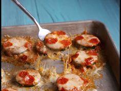 Best Zucchini Pizza Bites Recipe - How to Make Zucchini Pizza Bites