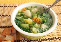 Итальянский суп минестроне   Диетические низкокалорийные рецепты - блюда правильного питания на Dietplan.ru