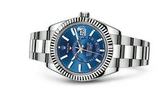 Rolex Sky-Dweller Watch: White Rolesor - combination of 904L steel and 18 ct white gold - 326934