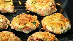 Kotleciki z marchewką i natką pietruszki | Zdrowo, znaczy smacznie