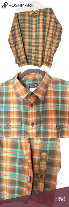 YUNY Men Warm Plaid Suede Thickening Leisure Button Down Shirt 10 L
