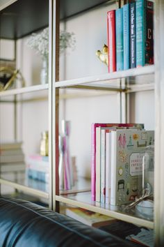 DIY Gold Ikea Booksh