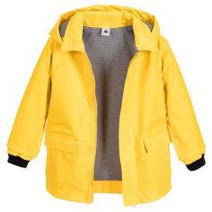 Petit Bateau - Bright Yellow Raincoat | Childrensalon