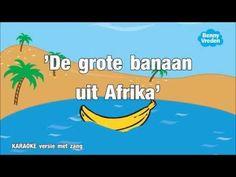 De grote banaan uit Afrika (karaoke met zang) - YouTube