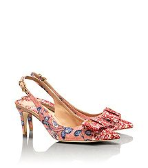 I can't imagine ever spending that much money on a pair of shoes... but these are very pretty! Tory Burch-AIMEE SLINGBACK PUMP