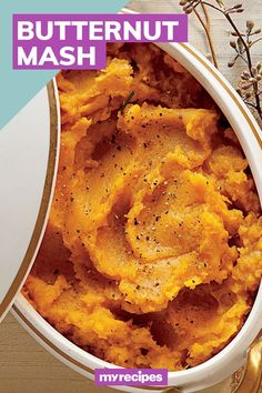 Roasted winter squash adds bright color to your holiday table.#winter #winterrecipes #winterrecipeideas #winterfoods #wintermeals Mash Recipe, Winter Recipes, Holiday Tables, Winter Food, Squash, Roast, Bright, Baking, Color