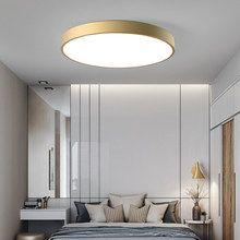Online Shop Moderne Led Deckenleuchte Macaron Runde Decke Lichter