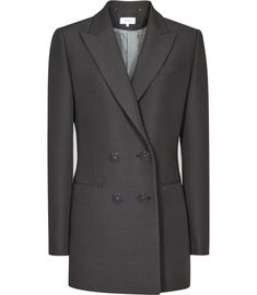 REISS - CAMEO DOUBLE-BREASTED BLAZER