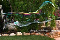 DIY : des bulles de savon géantes   La cabane à idées