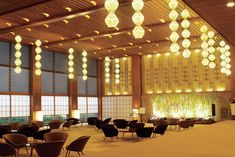 The main wing of Tokyo's Hotel Okura, which opened in 1962. This part of the hotel, with its iconic wood-and-paper lobby, was a collaboration between the leading artisans of the decade, including the architects Yoshiro Taniguchi and Hideo Kosaka and the folk artist Shiko Munakata. Anthony Cotsifas