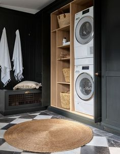 Stackable Laundry, Room Remodeling, House Design, Laundry, Remodel, Classic Rugs, Laundry In Bathroom, Mudroom Laundry Room, Mudroom