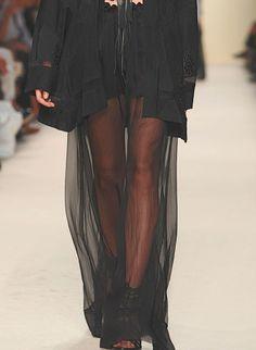 Ann Demeulemeester  spring 2012  fashion