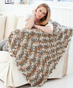 Stone Mountain Throw Crochet Pattern