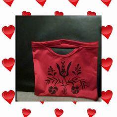 Handmade bag- folk motive