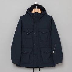 Engineered Garments Navy Nyco Ripstop Parka Size US M / EU 48-50 / 2 - 8