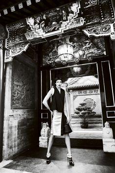 Karlie Kloss | Mario Testino | Vogue US September 2011 | GoEast! - 8 Style | Sensuality Living - Anne of Carversville Women's News