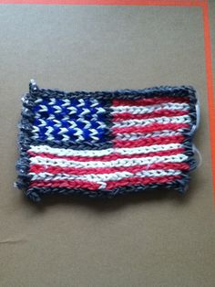 Rainbow Loom US flag