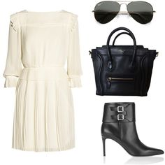 """""""white dress."""" by charlieandfog on Polyvore"""