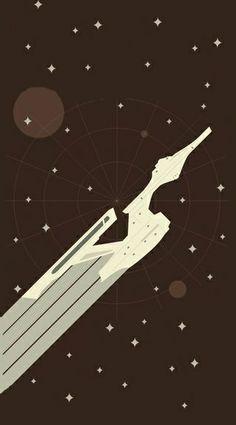 Starship Enterprise Phone Wallpaper Star Trek Art Star Trek Star Trek Universe