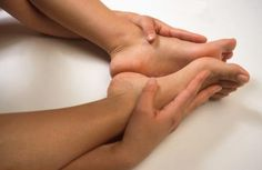 Cracks and pops are a normal side effect of stretching tight feet.