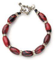 Inferno Bead Bracelet - Beading Daily