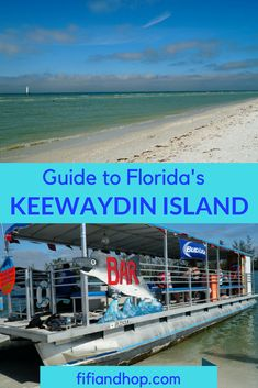 Keewaydin Island, off the coast of Naples in Florida, is one of the state's most unique islands. Only accessible by boat, the island is unspoiled and the locals' best kept secret. Here is our guide to Keewaydin, including things to do and how to get there. #Keewaydinisland #Florida #vacation