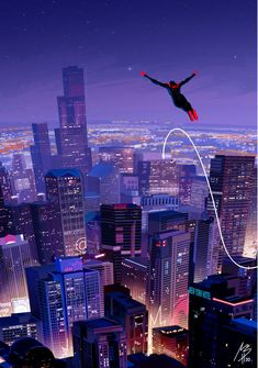 """Spider-people into the Spiderverse. Marvel Comic Universe, Marvel Art, Marvel Heroes, Marvel Avengers, Marvel Comics, Man Wallpaper, Marvel Wallpaper, Miles Morales Spiderman, Spiderman Spider"