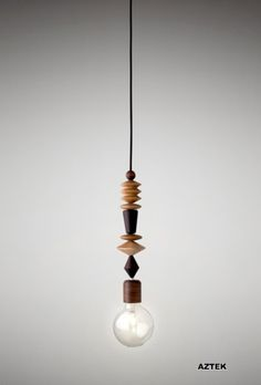 Aztek Bright Beads pendant light