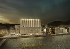 Winners Announced For Norwegian Competition to Convert Grain Silo into Art Museum