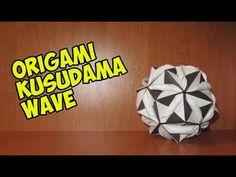DIY: Origami Kusudama wave折り紙楠田波 - YouTube