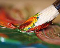cette œuvre est très simple on voit que c'est seulement un pinceau avec de la couleur mélanger mais je trouve ça originale. je ne pense pas que j'aurait opter pour ce choix de couleur car je les trouve trop terne mais avec des couleur plus vive selon moi la toile serait encore plus belle. on voit que la sorte de peinture est probablement de la gouache.