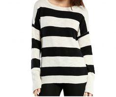 Michael Stars | Slub Stripe Boatneck Sweater