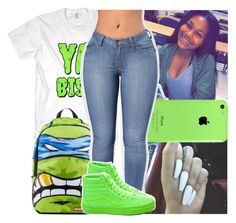 """""""catch up lil boo cause im next up"""" by daeethakidd ❤ liked on Polyvore featuring Vans"""
