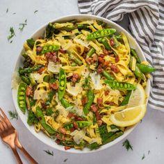 No Dairy Recipes, Pasta Recipes, Salad Recipes, Vegetarian Recipes, Cooking Recipes, Easy Dinner Recipes, Easy Meals, Dinner Ideas, Spring Recipes
