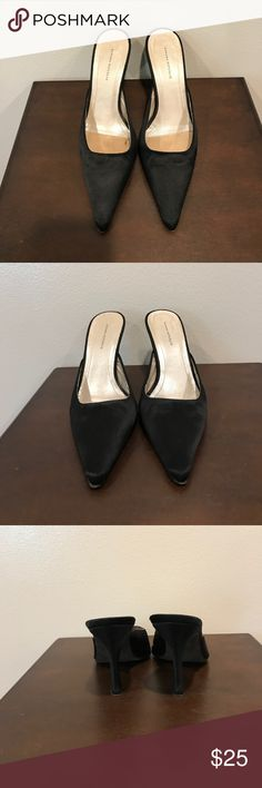 """Banana Republic Heels size 6 Beautiful preloved black Banana Republic heels. These heels are a size 6 and in good condition. They have a 3.75"""" heel. If you have any questions please ask 💕 Banana Republic Shoes Heels"""