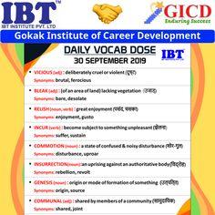 Daily Vocab For More Contact Now Career Development, Facebook Sign Up, Affair, Something To Do, Success, Shelf