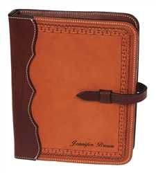 Western Style Leather Day Planner