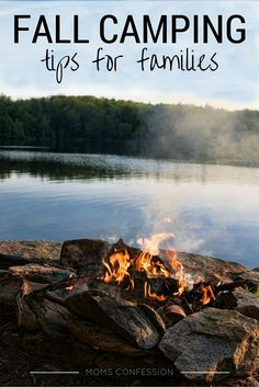 Fall Camping Tips For Families - If your family loves camping when the weather turns cooler, these camping tips for families are a must for you! Camping is the perfect time to bond with family and enjoy some fun outdoors!