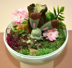 Items similar to Pokemon Terrarium with Sleeping Bunnelby Diorama, Pokeball Terrarium with stand, 4 inch, Forest Environment on Etsy Pokemon Terrarium, Terrariums, Diorama, Nike Shoes, Toy, Gift Ideas, Unique Jewelry, Handmade Gifts, Plants
