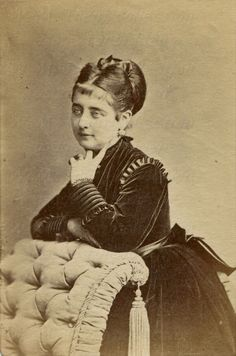 1872 Albumen Photograph.  Soprano Pauline Lucca was born in Vienna on 25th April 1841 and died there on 28th Feb 1908 – as Baroness Wallhofen-Lucca.   She made her debut in 1859 as Elvira in Verdi's Ernani and was leading soprano in Vienna [1874-1889] when she retired.  She had been engaged in Berlin in 1861 on the recommendation of the composer Meyerbeer, with whom she studied a number of roles. She made her Covent Garden debut in 1863