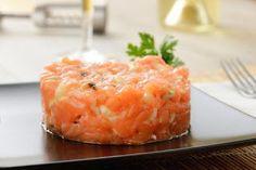 Tartar de Salmón -Monsieur Cuisine