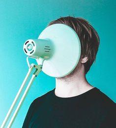 Photographie. Janne Karvinen. La tête empâtée. #lampe https://www.flickr.com/photos/pasajasser/