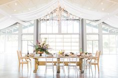Bold color, contemporary style and true love shine at one of Arkansas' newest wedding venues.