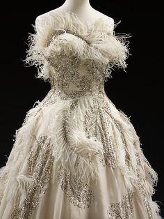 Evening Dress - Pierre Balmain  French, 1950-55
