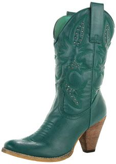 teal women's cowgirl boots 2013